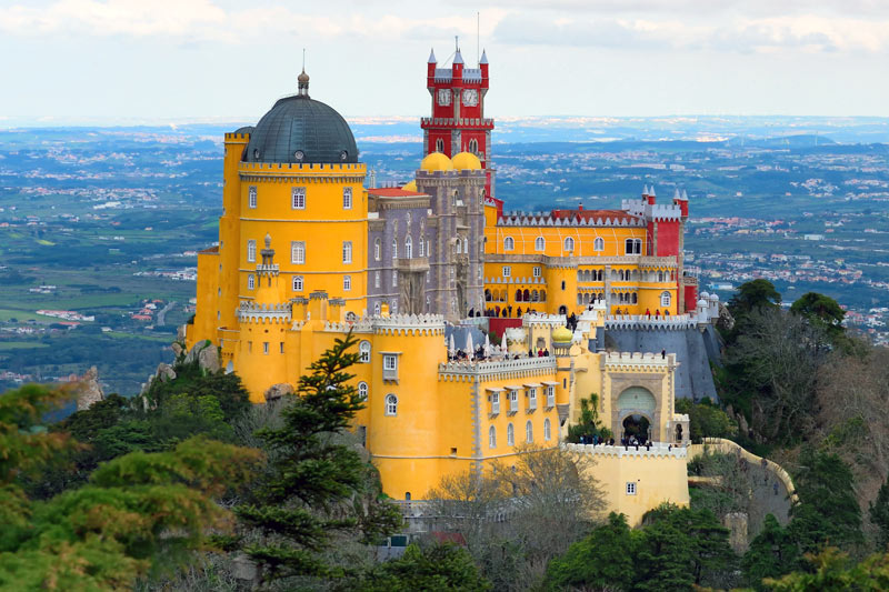 sintra castle small